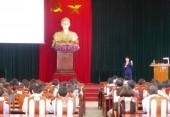 Huyện Thanh Oai: Tập huấn nghiệp vụ công tác văn thư, lưu trữ