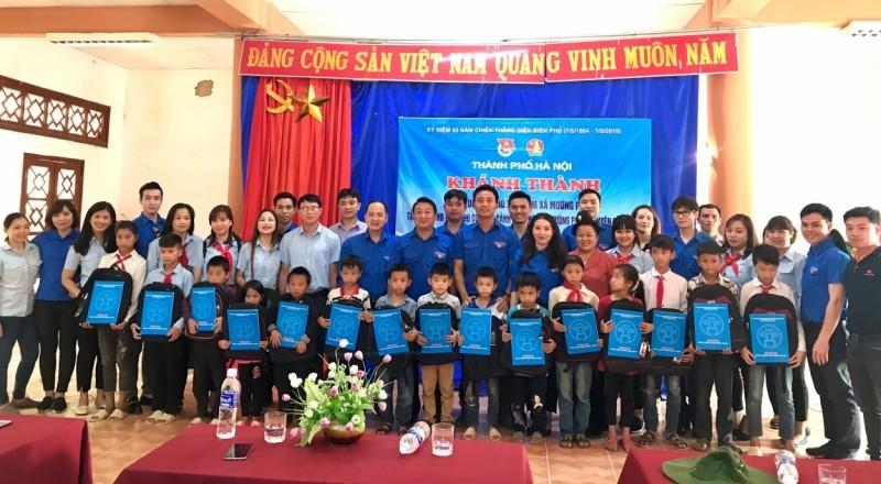 'Tuổi trẻ Thủ đô viết tiếp trang sử vàng' tại tỉnh Điện Biên