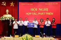 Hà Nội - Hà Nam tăng cường hợp tác cùng phát triển