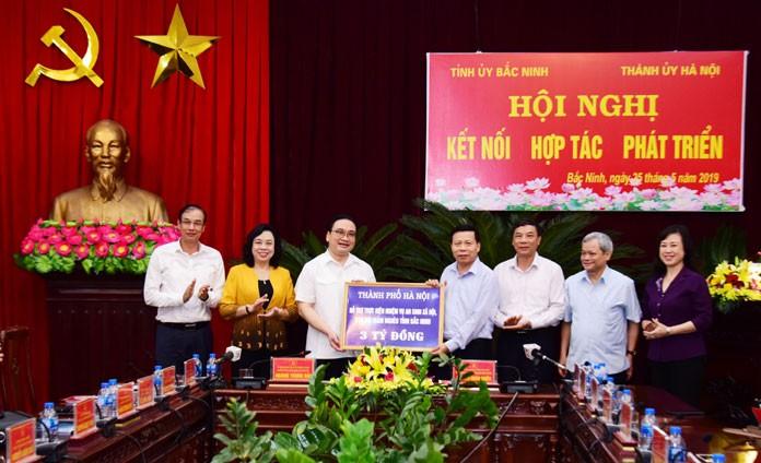 Hà Nội tăng cường kết nối, hợp tác toàn diện với tỉnh Bắc Ninh