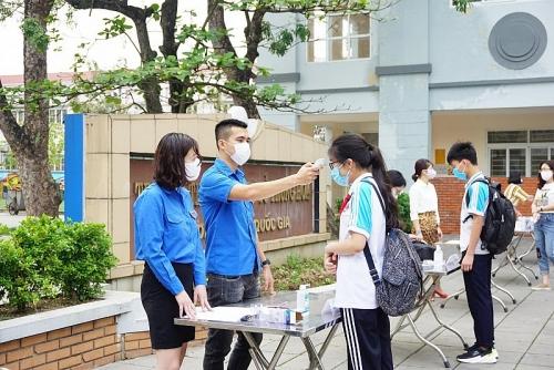 Thanh niên Thủ đô đồng hành cùng học sinh trở lại trường