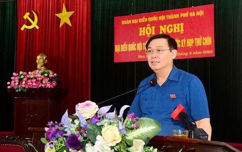 Hà Nội đặt mục tiêu sớm hoàn thành quy hoạch hai bờ sông Hồng