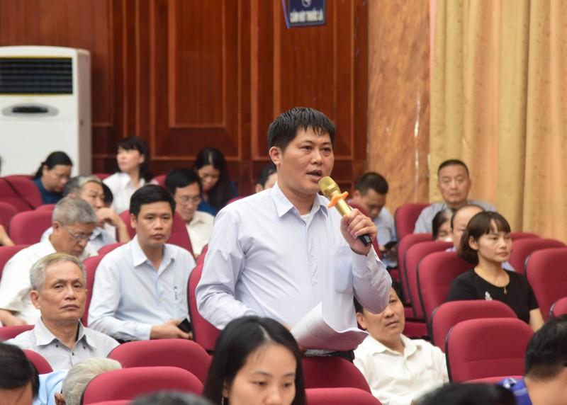 Hà Nội: Cử tri kiến nghị vấn đề liên quan công trình đường đua F1