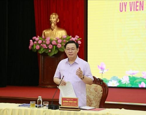 Bí thư Thành ủy Vương Đình Huệ: Phát triển đô thị không để xảy ra tình trạng