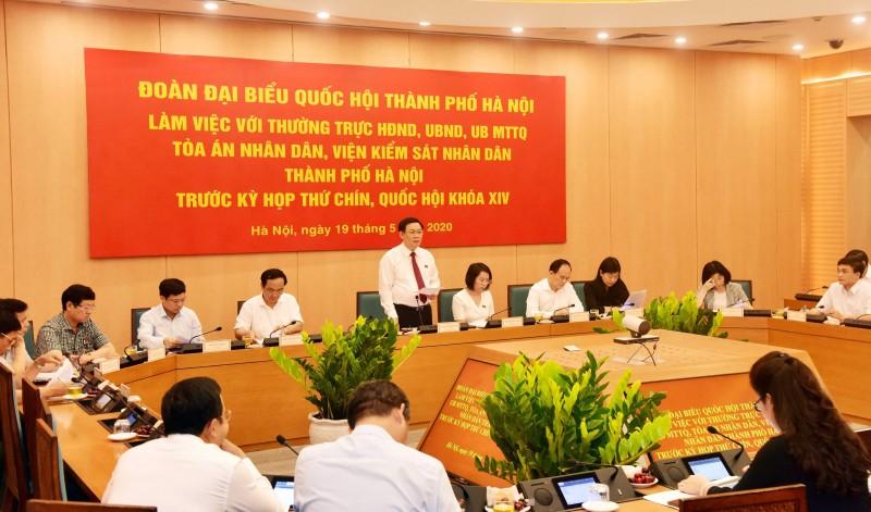 Bí thư Thành ủy Vương Đình Huệ: Cụ thể hóa mục tiêu