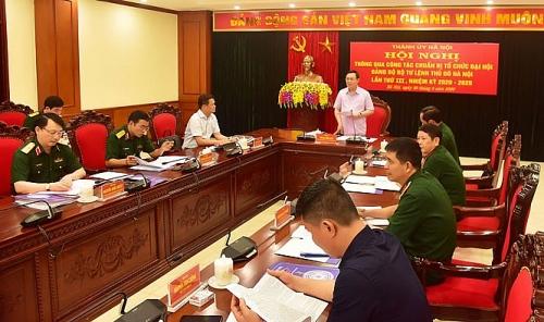 Ban Thường vụ Thành ủy Hà Nội trực tiếp đi kiểm tra công tác tổ chức đại hội