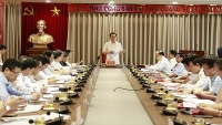 Bí thư Thành ủy Vương Đình Huệ: Rõ người, rõ việc, rõ tiến độ trong xử lý ô nhiễm môi trường
