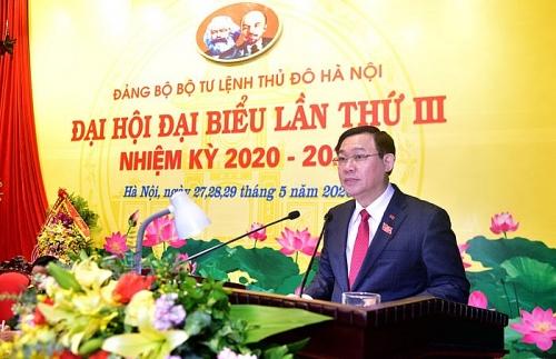 """Bí thư Thành ủy Vương Đình Huệ: Cảnh giác với thủ đoạn """"phi chính trị hóa"""" lực lượng vũ trang"""