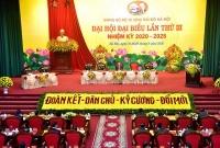 Hà Nội: Đảng bộ hơn 2.000 đảng viên tổ chức Đại hội đại biểu lần thứ III