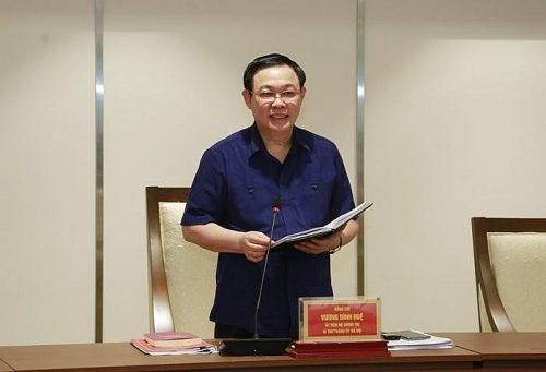 Thành ủy Hà Nội chốt lịch tổ chức hội nghị xúc tiến đầu tư năm 2020