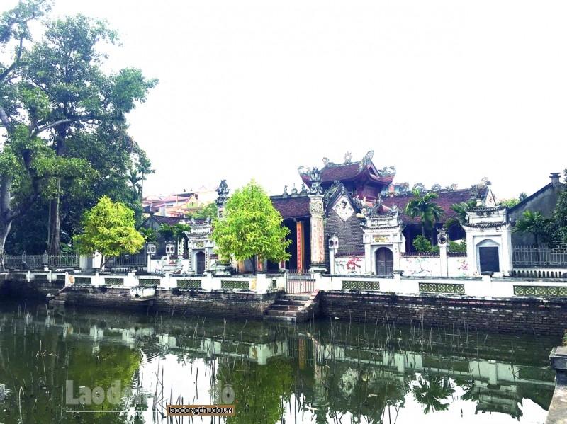 Nơi thờ Đức Quốc Tổ Lạc Long Quân tại Bình Đà, xã Bình Minh, huyện Thanh Oai