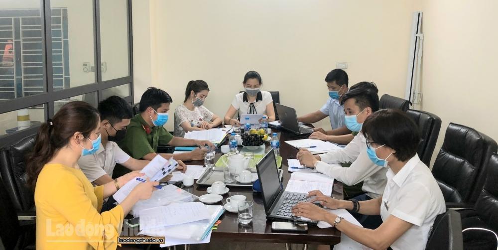 Huyện Thanh Oai: Kiểm tra việc chấp hành pháp luật lao động tại 55 doanh nghiệp