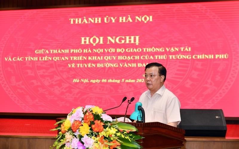 Hà Nội và 4 tỉnh thống nhất trình Thủ tướng Dự án đường vành đai 4
