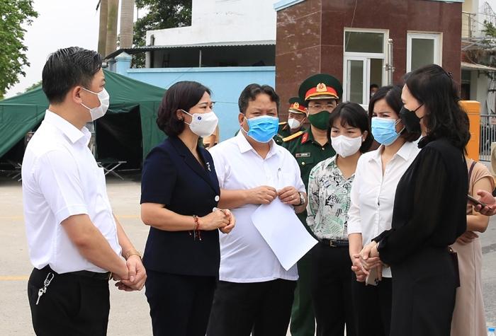 Phó Bí thư Thường trực Thành ủy Hà Nội: Bố trí hòm phiếu lưu động tại Bệnh viện K - cơ sở Tân Triều