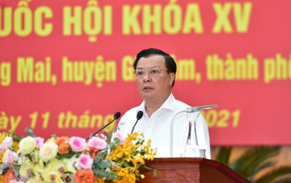 Các ứng viên đại biểu Quốc hội vận động bầu cử trực tuyến tại Hoàng Mai và Gia Lâm