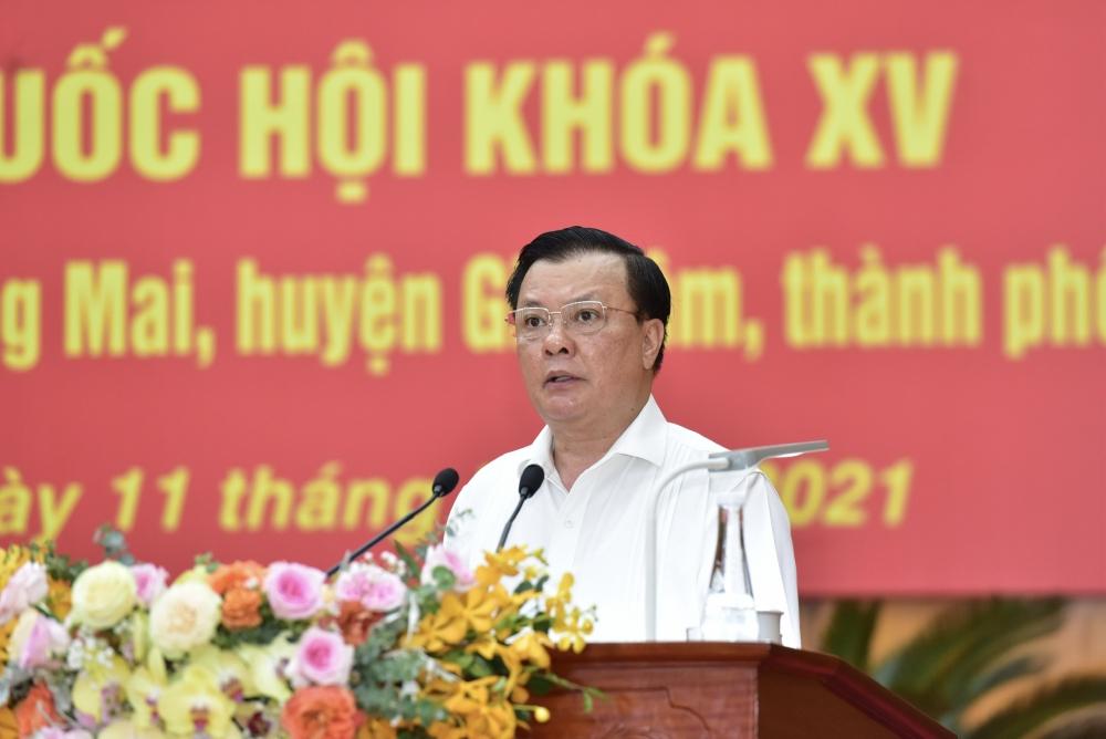 Bí thư Thành ủy Hà Nội Đinh Tiến Dũng: Kiên trì bảo vệ từng