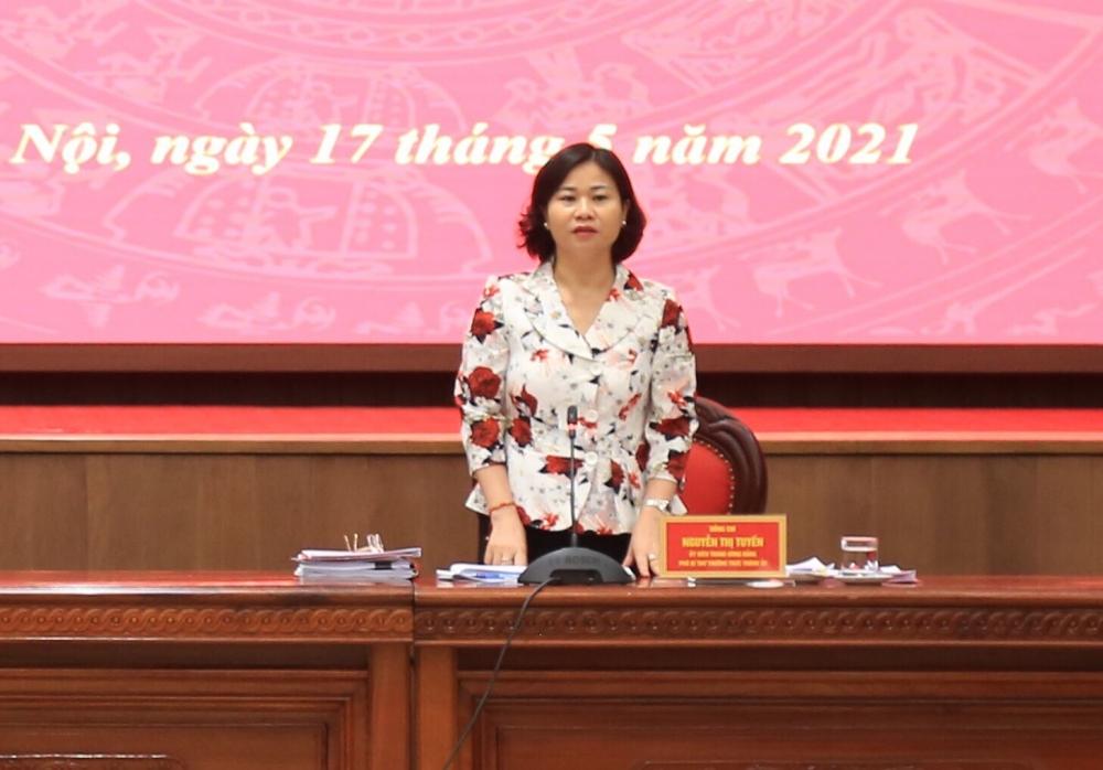 Phó Bí thư Thường trực Thành ủy Hà Nội: Đẩy mạnh tuyên truyền về trách nhiệm và nghĩa vụ thiêng liêng của cử tri