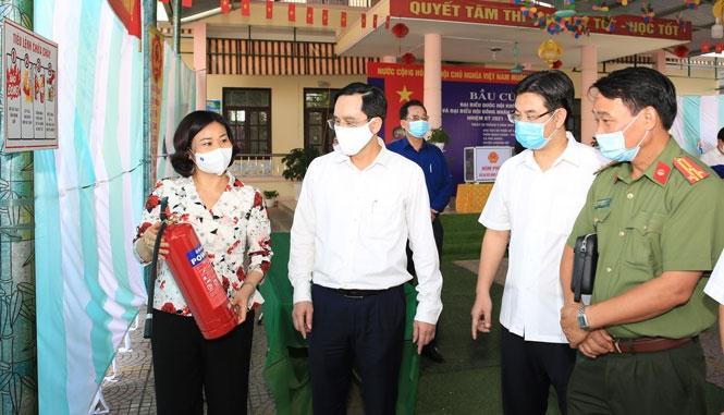 Phó Bí thư Thường trực Thành ủy Hà Nội Nguyễn Thị Tuyến: Bảo đảm cuộc bầu cử được tiến hành đúng quy định