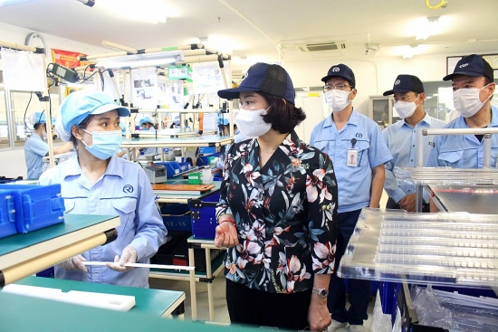 Hà Nội: Kiểm soát chặt biến động của công nhân trong khu công nghiệp