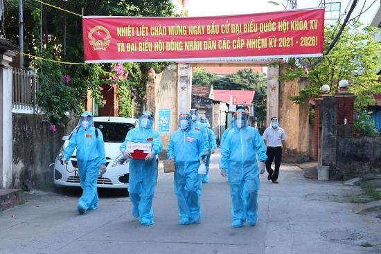 Hà Nội: Cuối ngày bầu cử, có 99,13% cử tri tham gia bỏ phiếu