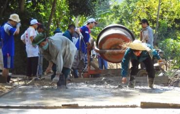 Bảo vệ môi trường trong xây dựng nông thôn mới tại các xã khó khăn