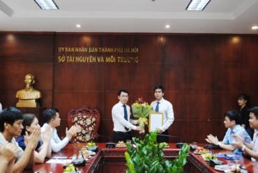 Ông Vũ Xuân Tùng được bổ nhiệm làm Chi cục trưởng Chi cục Quản lý đất đai