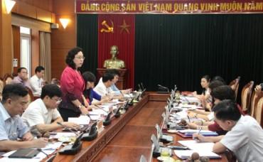 Tăng dần tỷ lệ cán bộ nữ tham gia cấp ủy, chính quyền