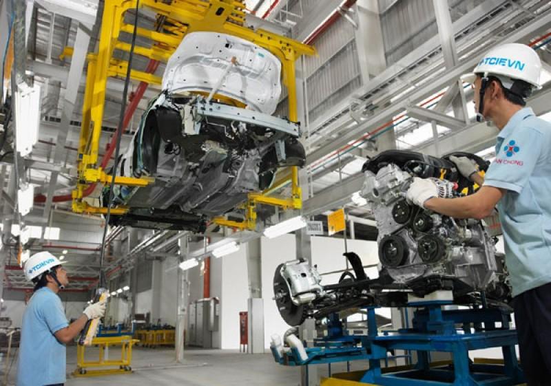 Công nghiệp Hà Nội tăng trưởng 2,1% trong tháng 6