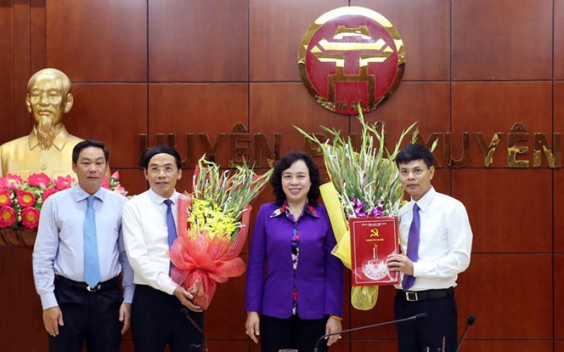 Đồng chí Nguyễn Văn Thọ làm Bí thư Huyện ủy Quốc Oai