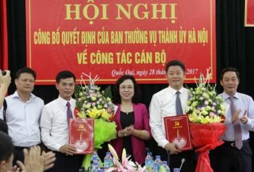 Ông Nguyễn Mạnh Quyền được bổ nhiệm làm Giám đốc Sở Kế hoạch và Đầu tư Hà Nội