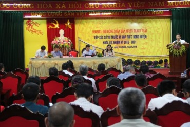 Huyện Thạch Thất: Cử tri kiến nghị đầu tư bãi tập kết rác thải