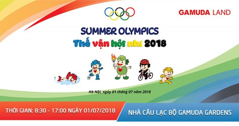 """Sắp diễn ra thế vận hội nhí """"Gamuda – Summer Olympics 2018"""""""