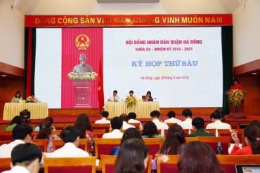 HĐND các quận huyện tổ chức kỳ họp giữa năm