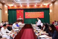 Đoàn kiểm tra của Bộ Chính trị làm việc với Hà Nội về công tác cán bộ