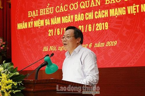 Hà Nội phát động 2 Giải báo chí về xây dựng Đảng và phát triển văn hóa năm 2019