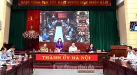 Hà Nội tổ chức giao ban trực tuyến bàn các vấn đề cấp bách