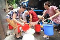 Nước sạch vẫn bảo đảm cung cấp đủ cho người dân đợt cao điểm