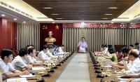Bí thư Thành ủy Hà Nội Vương Đình Huệ làm việc với Đảng ủy khối có 3.200 tiến sĩ