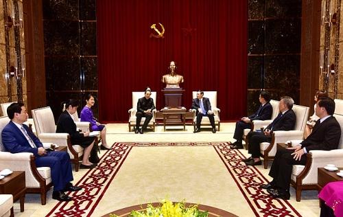 Bí thư Thành ủy Vương Đình Huệ chia sẻ cơ hội đầu tư với Đại sứ Thái Lan