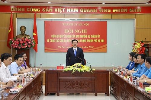 Bí thư Thành ủy Vương Đình Huệ: Nhờ Công đoàn mà Thủ đô không có đình công, lãn công
