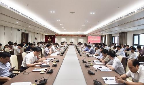 Hà Nội họp đánh giá kết quả Đại hội Đảng quận Ba Đình, huyện Gia Lâm và Bộ Tư lệnh Thủ đô