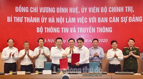 Hà Nội đề nghị phủ sóng wifi cho các khu công nghiệp, khu du lịch, làng nghề