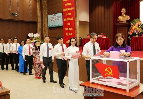 Đồng chí Trần Anh Tuấn làm Bí thư Đảng ủy cơ quan Văn phòng Thành ủy Hà Nội