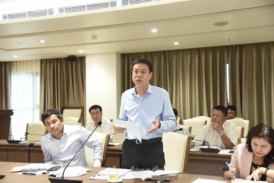 Lãnh đạo các bộ, ngành trung ương góp ý xây dựng Thủ đô