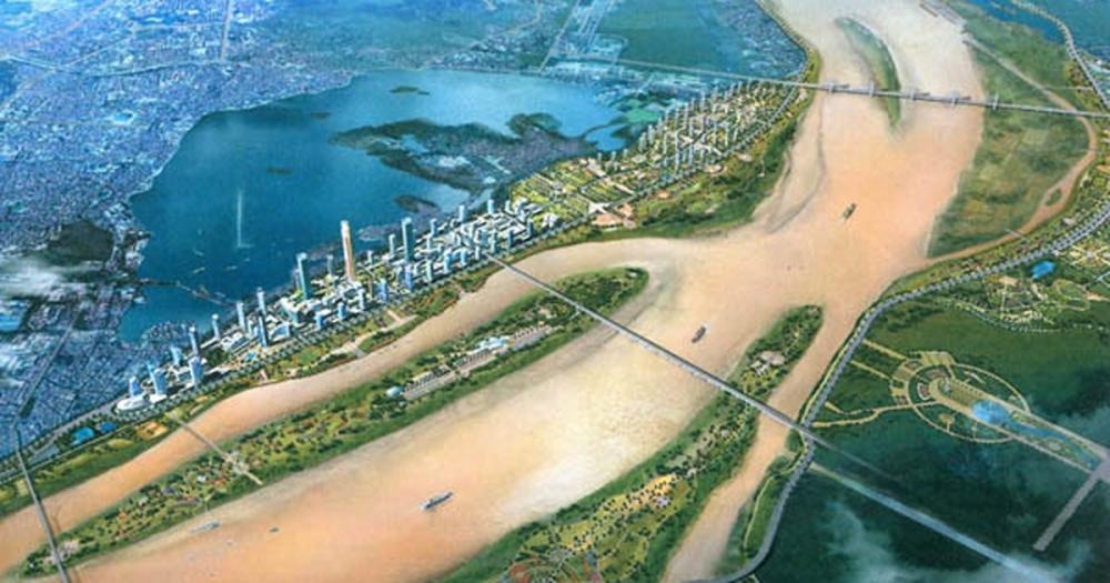 """Hà Nội trở thành """"Seoul thứ hai"""" nếu sử dụng hiệu quả đất ven sông Hồng"""