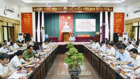 Huyện Thường Tín mong được vay vốn để làm hạ tầng khu đấu giá đất