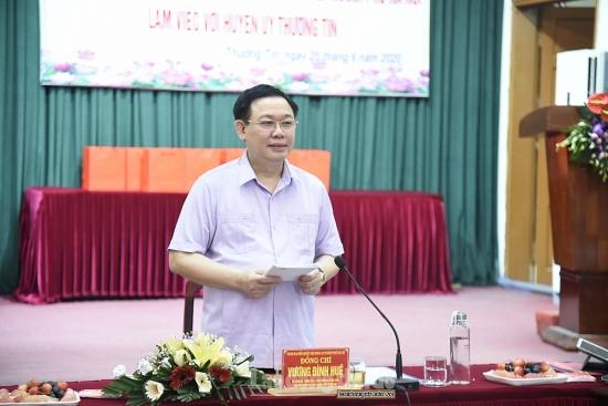 Bí thư Thành ủy Vương Đình Huệ: Khẩn trương nghiên cứu phát triển trục kinh tế phía Nam