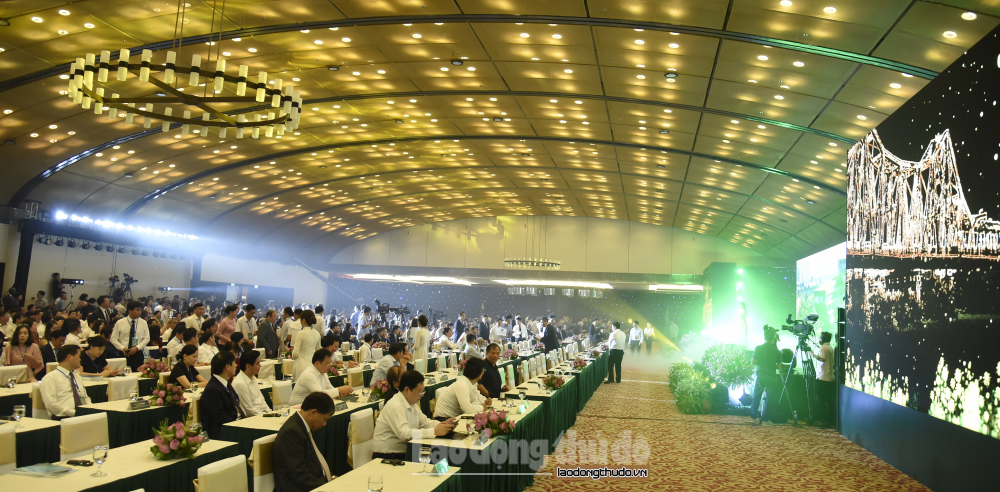 """Hơn 1.200 doanh nghiệp dự Hội nghị """"Hà Nội 2020 - Hợp tác đầu tư và phát triển"""""""