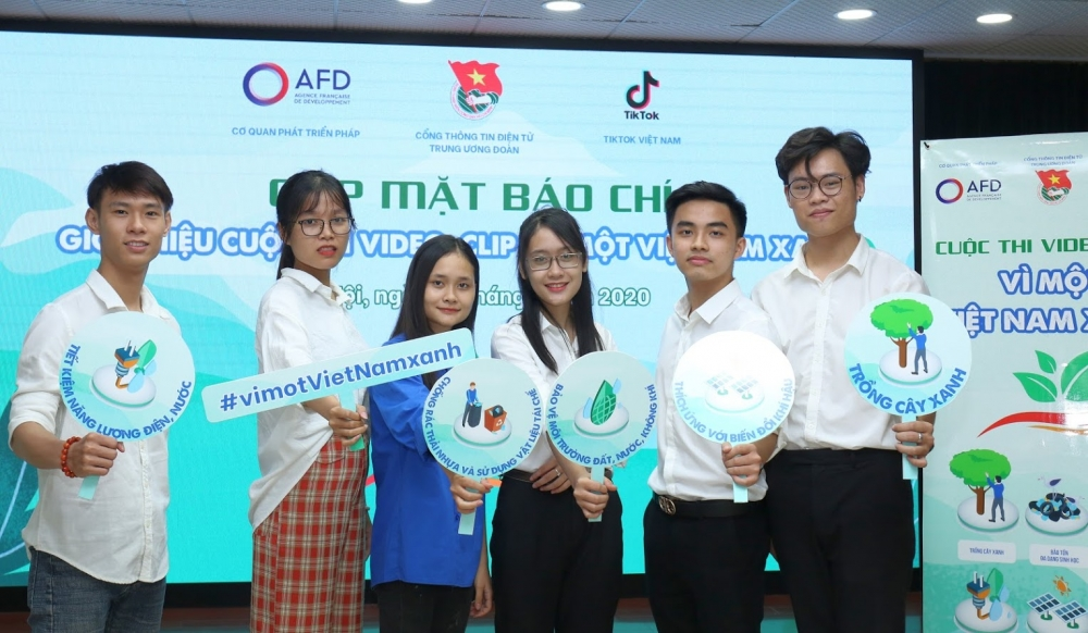 Cuộc thi sáng tạo video trên Tiktok để bảo vệ môi trường
