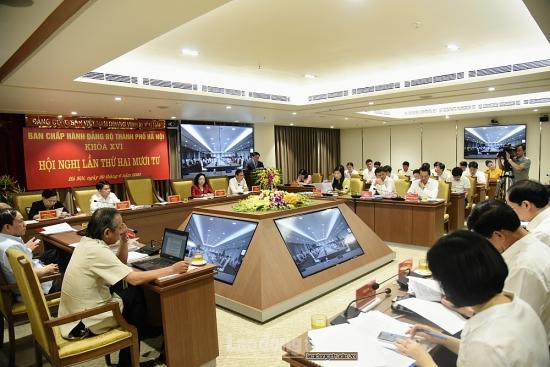 Khai mạc Hội nghị lần thứ 24 Ban Chấp hành Đảng bộ thành phố Hà Nội